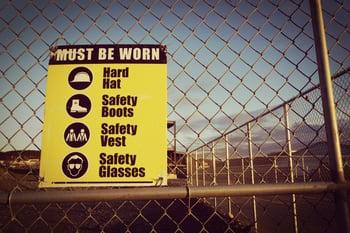 Work Safety - sign